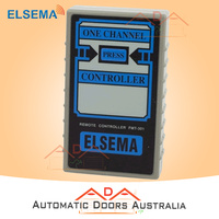 Elsema FMT301 Garage Door Remote 1 Button Transmitter, 12 Dipswitches FMT-301 x1